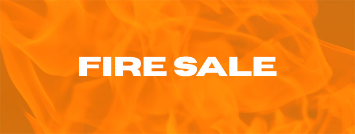 Fire Sale Banner