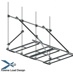 XLD Non-Penetrating Rooftop Pipe Frames