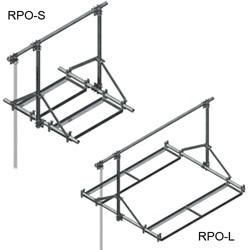 Rooftop Parapet Overhang Mounts
