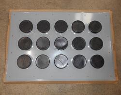 Aluminum Entry Panel 4'' Ports