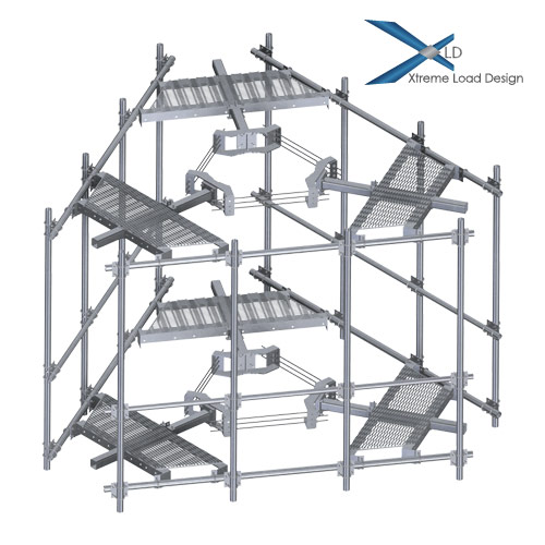 XLD CAGE-SNP Platform for 12 Antennas and RRU's