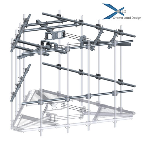 XLD CAGE TOP Platform Reinforcement Kit