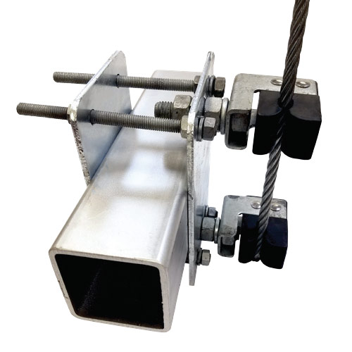 Monopole T-Arm or Platform Stand-Off Assemblies
