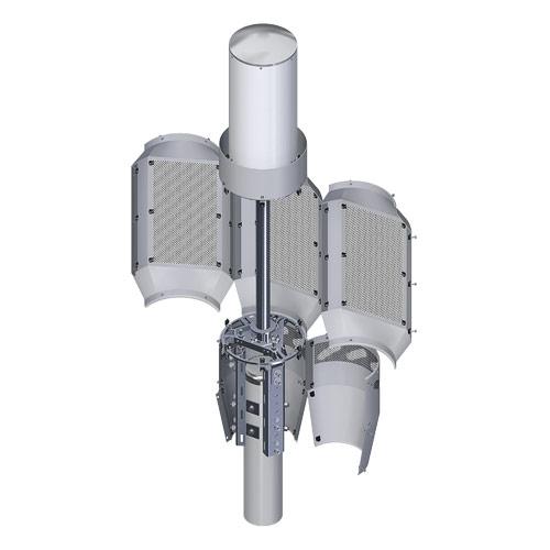 4G/5G Triple QT Open Shroud