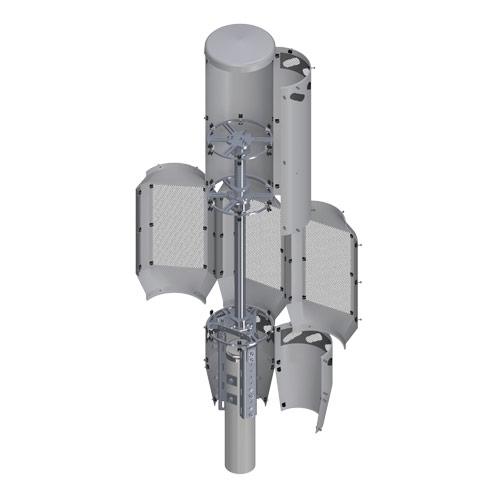 4G/5G Triple QT Concealment Shroud