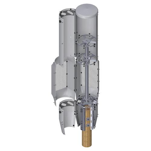 4G/5G Dual QT Concealment Shroud