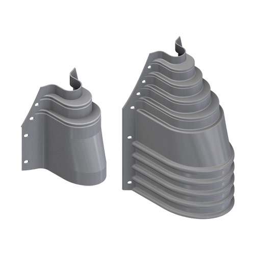 U-Riser Pole Adapter and Ground Boot