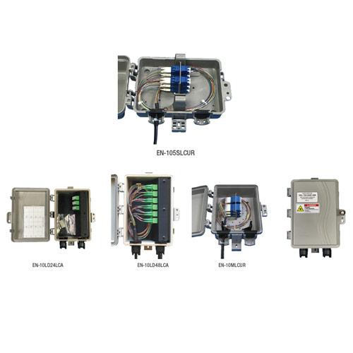 Outdoor Rated Fiber Demarcation Panels (No Service Divider)