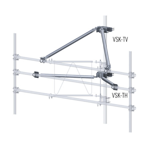 V-Style Sector Frame Stabilizer Kits (Pipe)