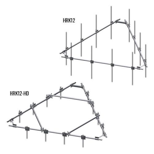 Universal Platform Support Rail Kits