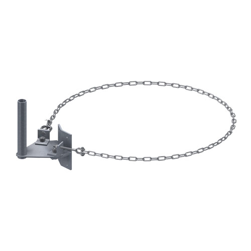 Chain Mount for Small Antenna