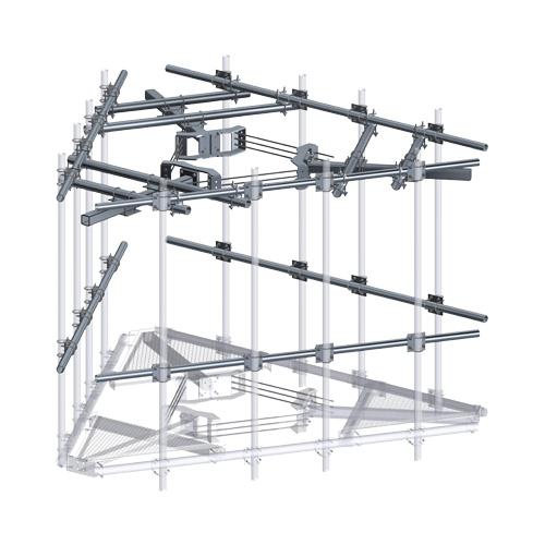 XLD CAGE TOP Platform Reinforcement Kit
