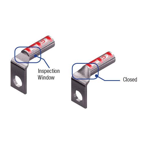 90° One-Hole Compression Lugs