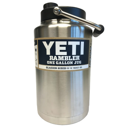 Fearless RAMBLER Stainless Steel One Gallon Jug by Yeti