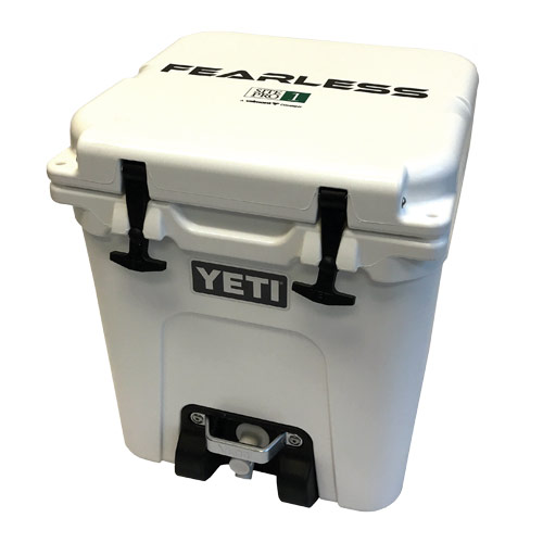 Fearless Silo 6G Water Cooler by Yeti (White)