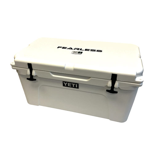 Fearless TUNDRA 65 Cooler by Yeti (White)