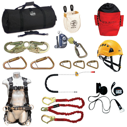 Deluxe Climbing Kits with Harness
