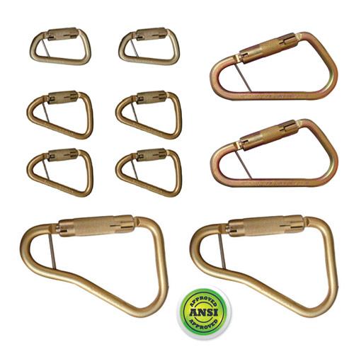 Steel Carabiner Pack