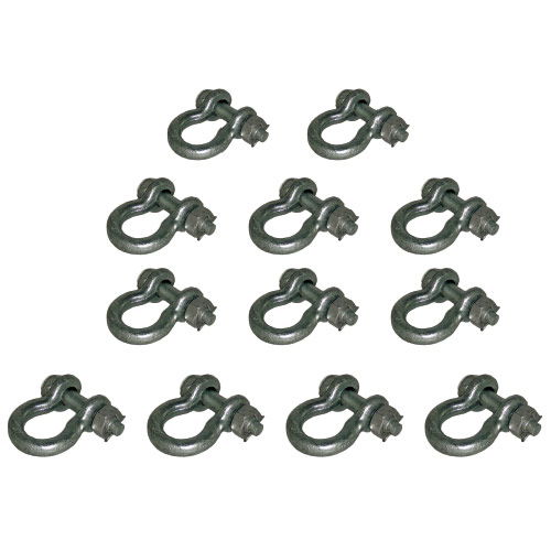 Standard-Duty Select Bolt-Type Shackle Pack