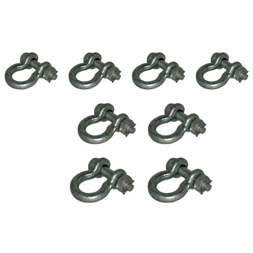 Heavy-Duty Select Bolt-Type Shackle Pack