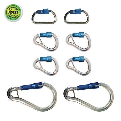 Aluminum Carabiner Pack