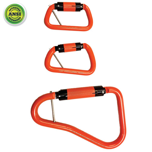 Tuf-Tug Steel Load-Rated Carabiners