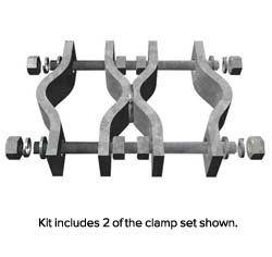 Welded Pipe to Pipe Clamp Sets