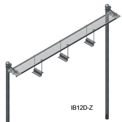 12'' Grip Strut Ice Bridge Kits with Z Bracket Trapeze