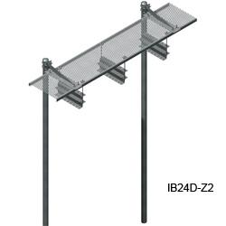 24'' Grip Strut Ice Bridge Kits with Z-Bracket Trapeze