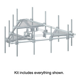 Low Profile Co-Location Platforms for 12 Antennas