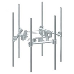 Monopole Double Support Arm Kits for 6 Antennas