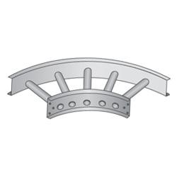 90° Horizontal Bends