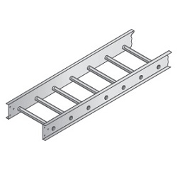 Straight Aluminum Ladder Tray