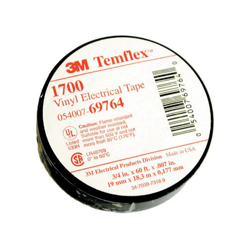 3M Temflex 1700 Electrical Tape