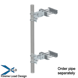 Sliding Universal Tapered Pipe Mounts