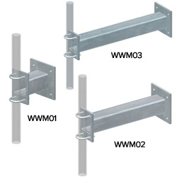 Clamp Set Wall Mounts, Cantilever Wall Mount, Angle Mount