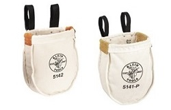 Utility Bolt Tool Bags for Tower Climbers with Snap Hooks | Site Pro 1