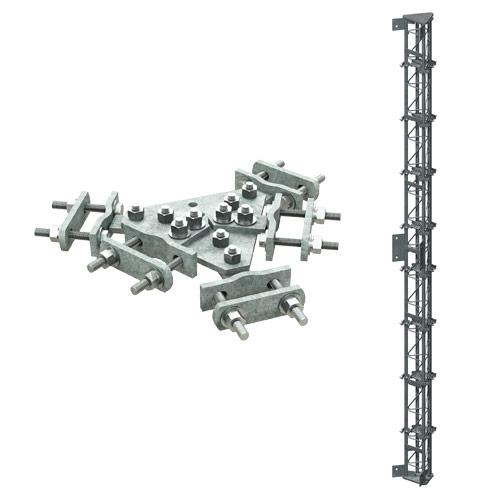 Tie-Rod Bracing for Pirod Towers