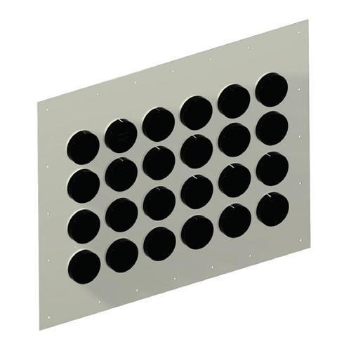 Aluminum Entry Panels - 4''...