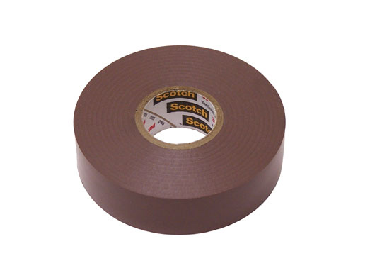3M Color Code Electrical Tape Brown | Site Pro 1