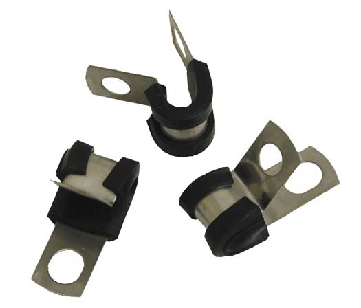 Insulated Wire Clamps, Wire Size 2 Solid | Site Pro 1