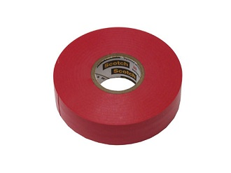 3M Color Code Electrical Tape Red | Site Pro 1