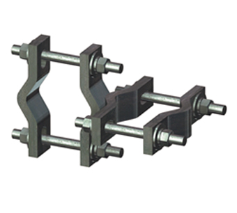 Antenna Mount Pipe Crossover Clamp Sets, Crossover Plates, Pipe